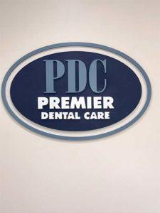 Premier Dental Care sign